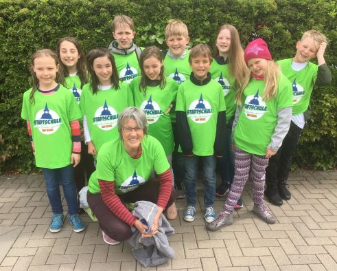 Schwimmteam Stadtschule Bad Vilbel 2019